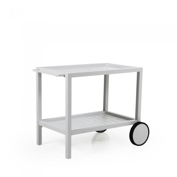 Столик для сервировки белый Belfort 4790-5