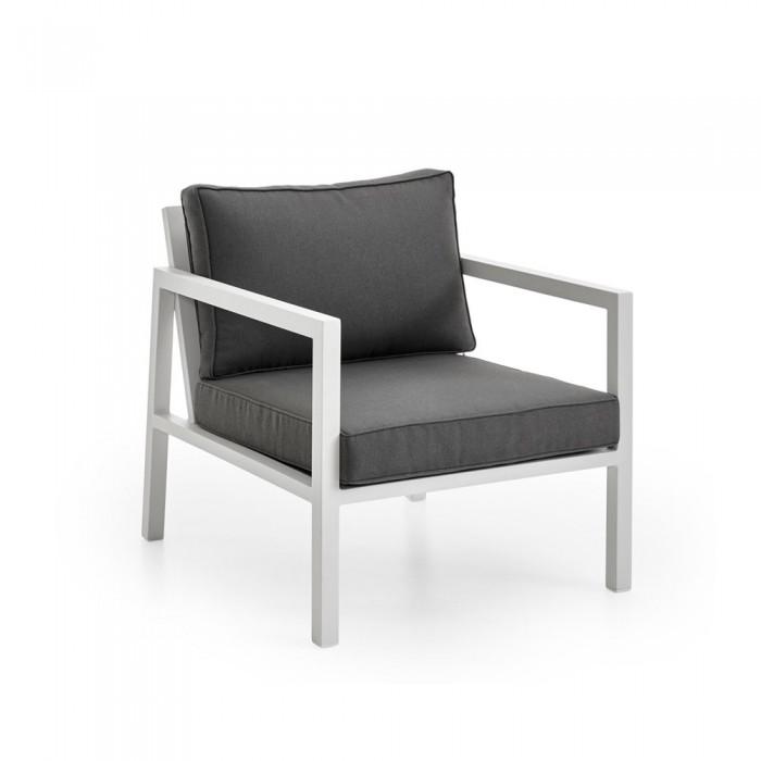 Кресло белое Belfort 4791-5-79