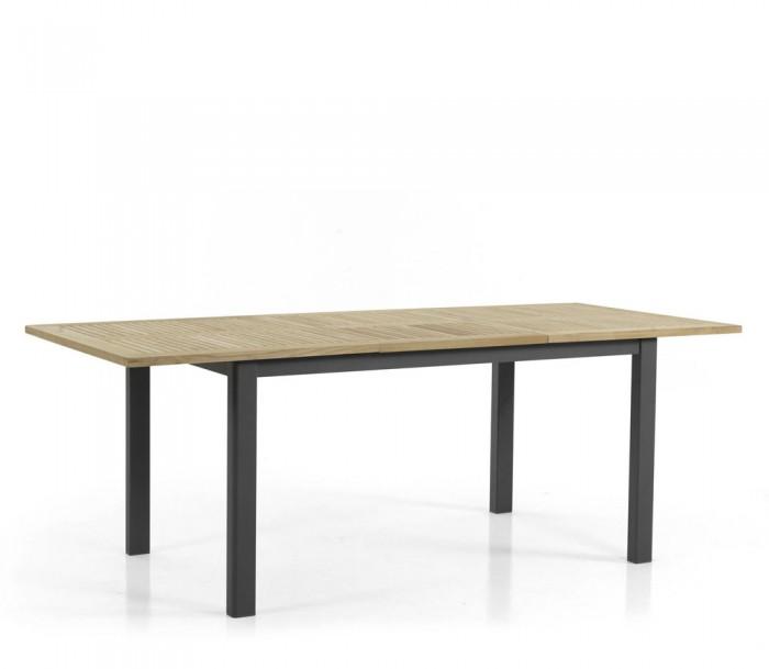 Стол раздвижной черный 210см Lyon 4741-8
