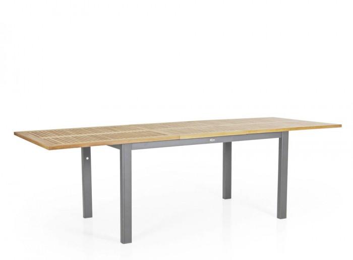 Стол раздвижной серый 252см Lyon 4742-70