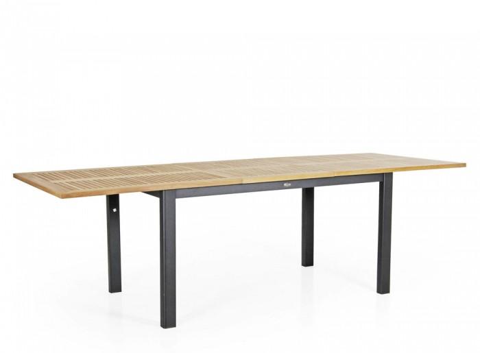 Стол раздвижной черный 252см Lyon 4742-8