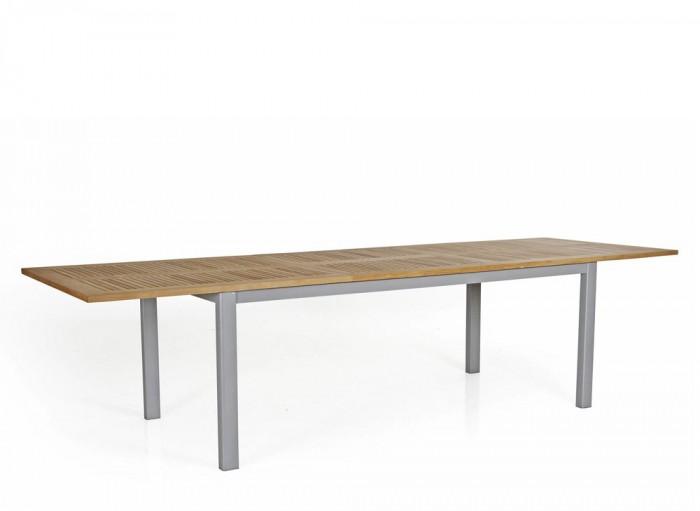 Стол раздвижной серый 304см Lyon 4743-70