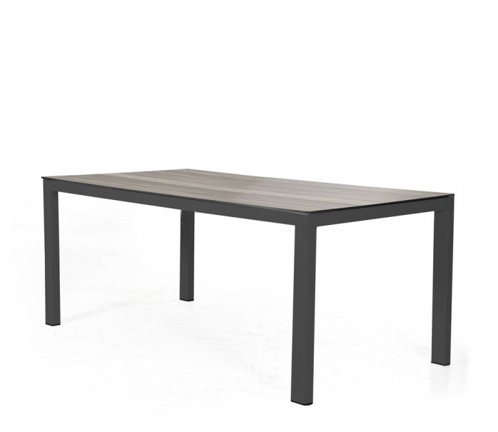 Стол обеденный черный 209см Rodez 4719-8B