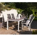 Стол обеденный белый 209см Rodez 4719-50W - фото 5