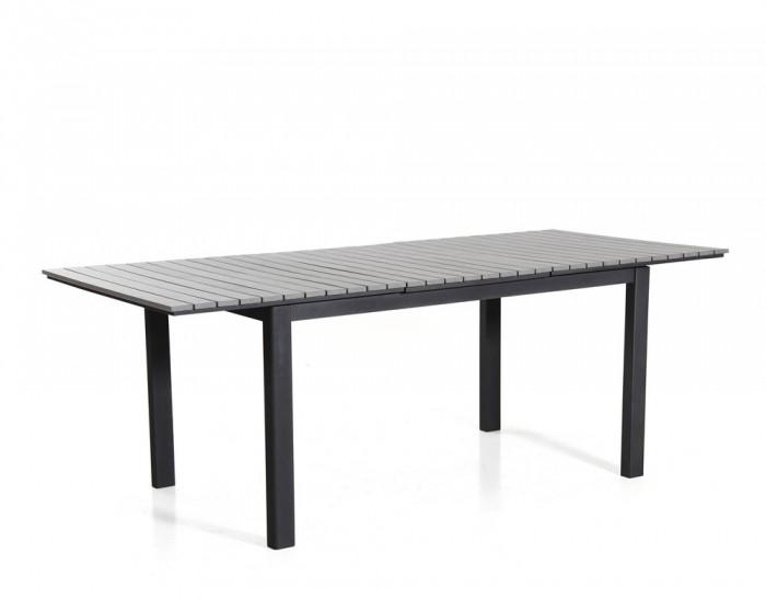 Стол раздвижной черный 210см Tilos 4721-8-7