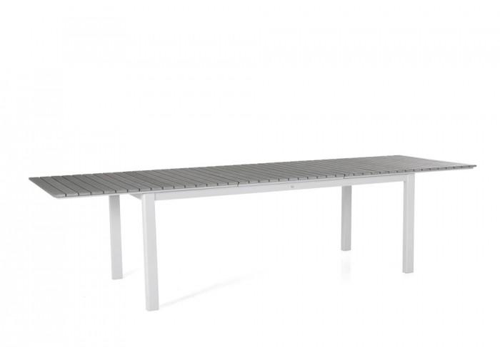 Стол раздвижной белый 302см Tilos 4723-50-7