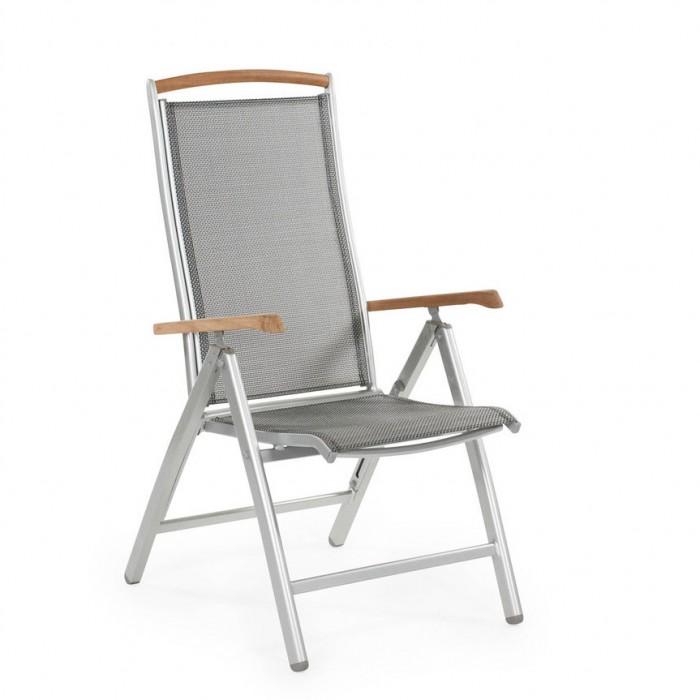 Креслo серебро Andy