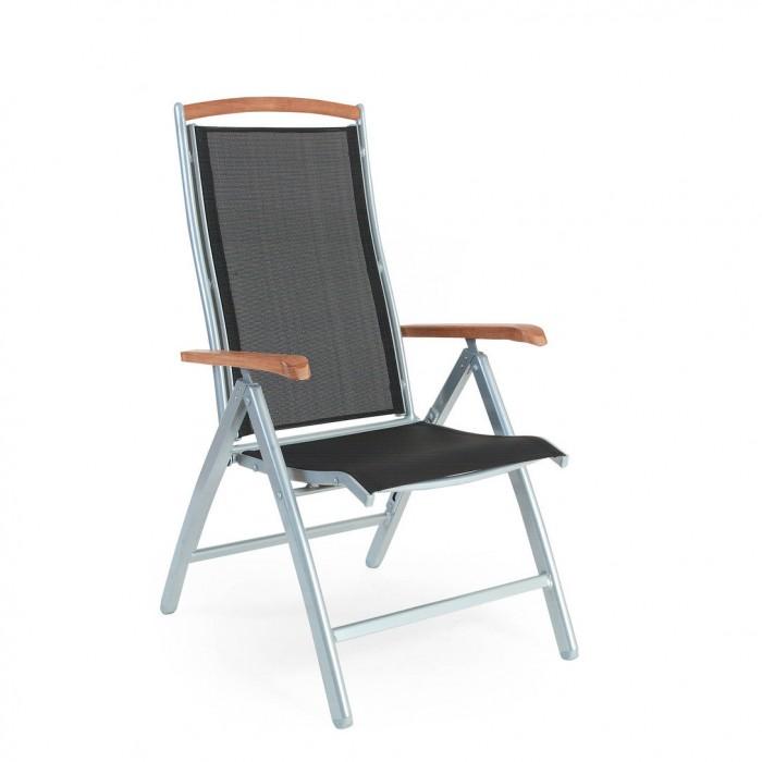 Креслo серебро/черный Andy 4770-70-8