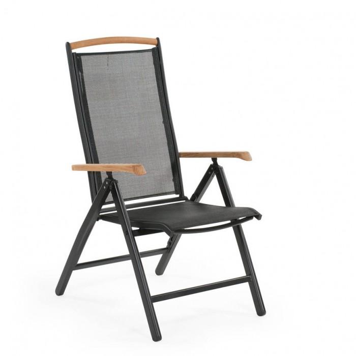 Креслo черное Andy 4770-8-8