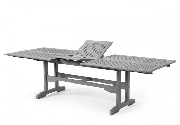 Стол обеденный античный серый Arizona 10732-71