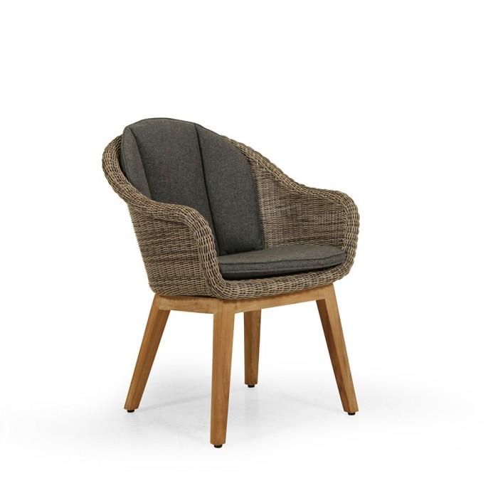 Кресло коричневое Beverly 5474-2-23