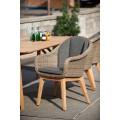 Кресло коричневое Beverly 5474-2-23 - фото 1