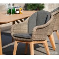 Кресло коричневое Beverly 5474-2-23 - фото 5