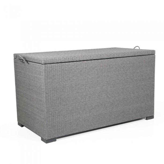 Сундук для подушек серый Mega 2300-73