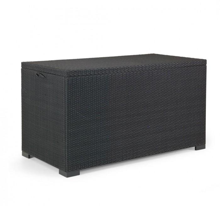 Сундук для подушек черный Mega 2300-8