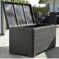 Сундук для подушек черный Maxi 2305-8 - фото 1