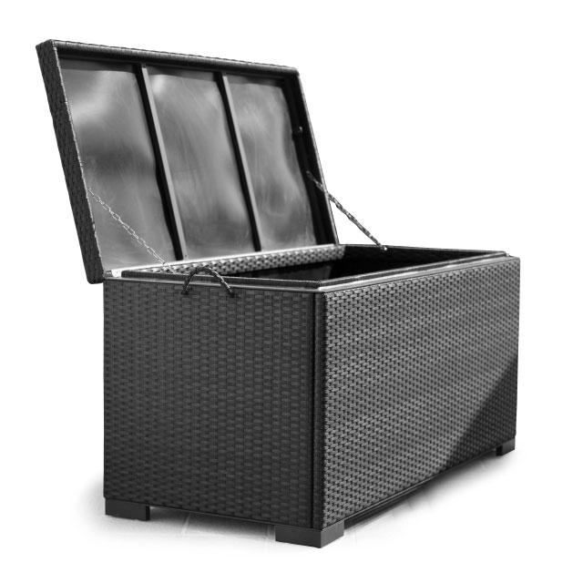Сундук для подушек черный Maxi 2305-8