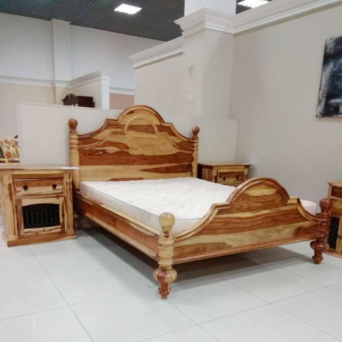 Кровать двуспальная Chambal NAC-F09-121B