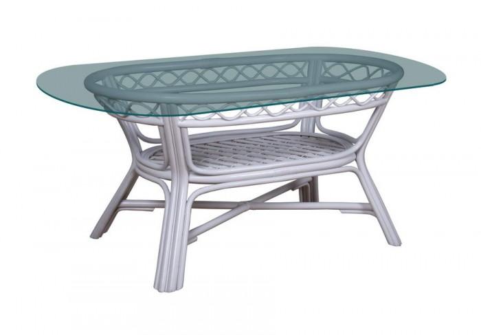 Стол обеденный овальный Classic-white  SPR.112.02.wht