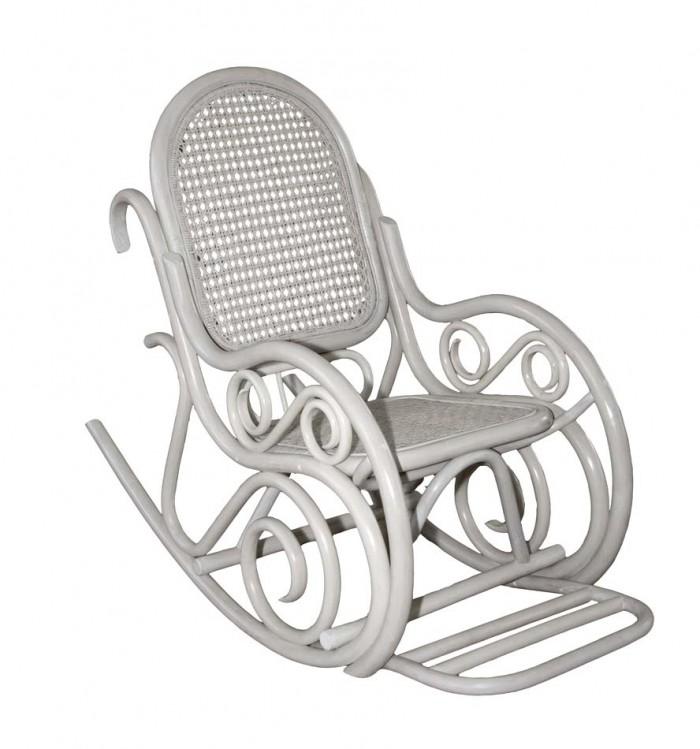 Кресло-качалка Династия белое Classic-white SPR.292.01.wht