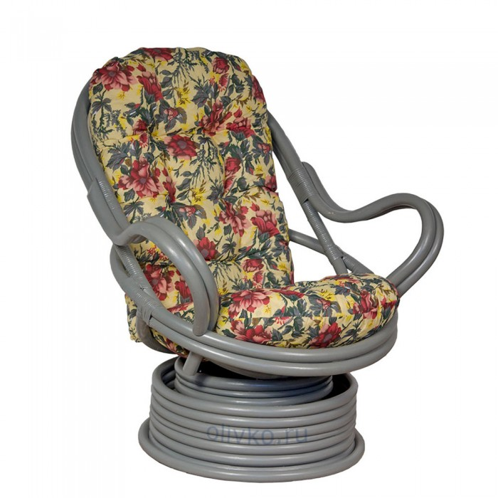 Кресло Роял Рокер серое SMK31.gr