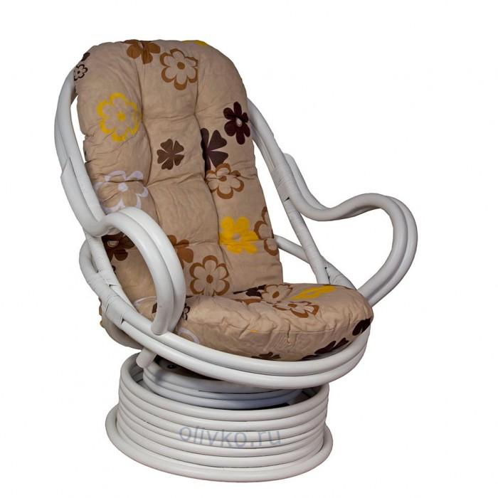 Кресло Роял Рокер белое SMK31.wht