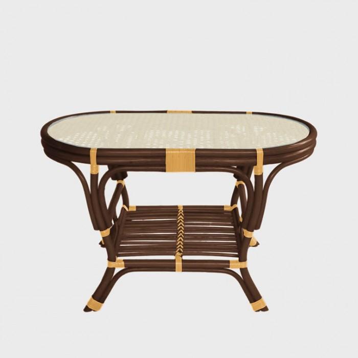 Столик для кофе овальный Pelangi  ER-114-3-2tb