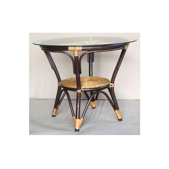 Стол коричневый Ebony ER-115-2-2tb