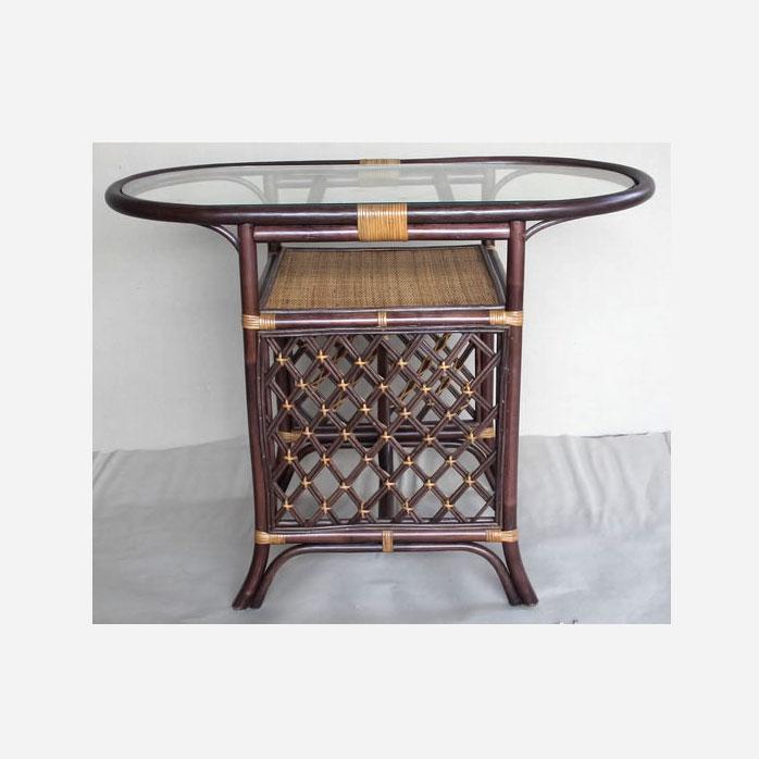 Стол коричневый Honeymoon ER-116-2-2tb