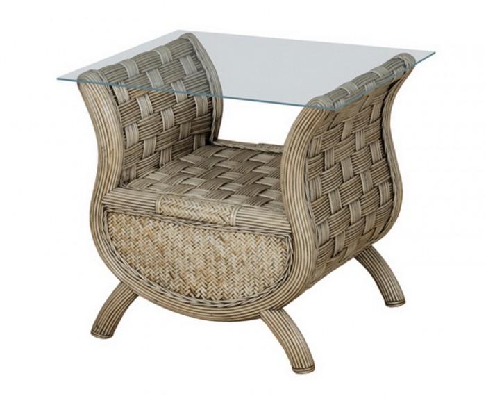Столик боковой седой Olimar SPA021gw