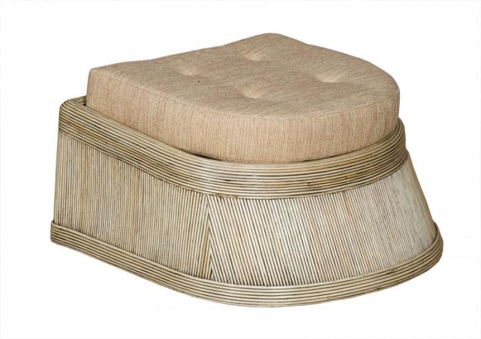 Пуфик седой Ribbon SPA055gw