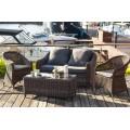 Кресло коричневое Ravenna С YH-C1103W brown - фото 2