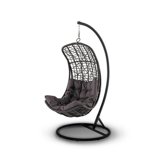 Кресло подвесное коричневое Vichy 646392brown