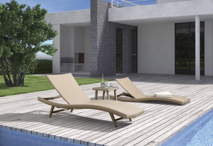 Столик к шезлонгу Capri 647161