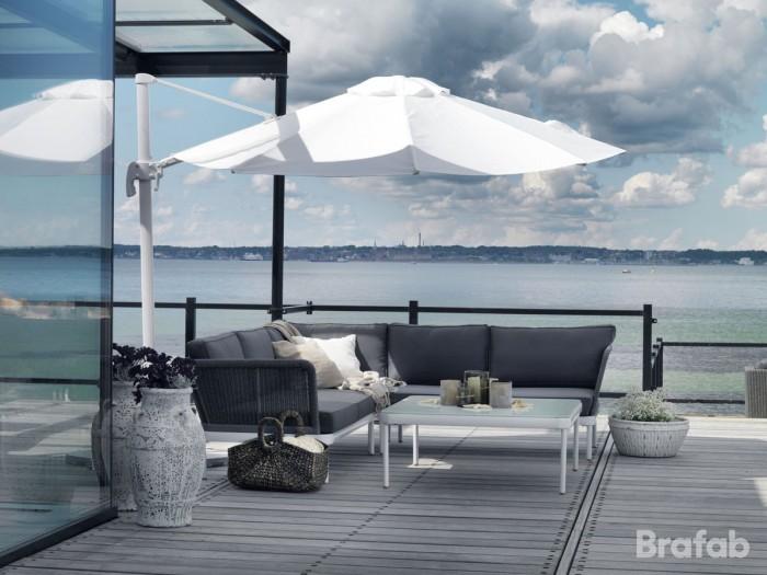 Комплект для отдыха серый Ajaccio ko-ajaccio-grey