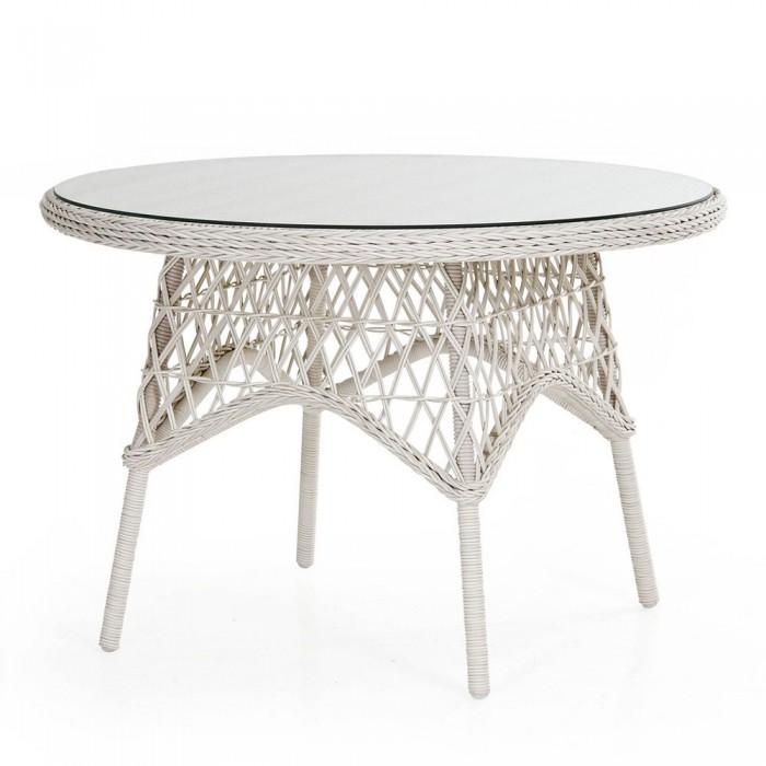 Стол обеденный белый 110см Beatrice 5694-5