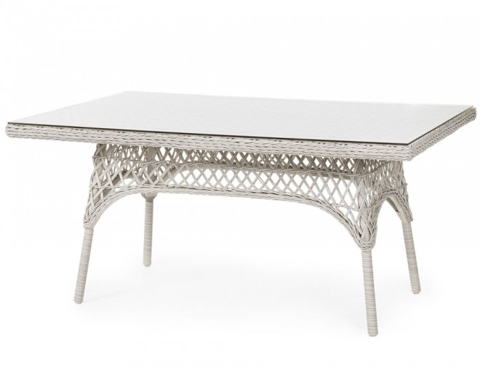 Стол обеденный белый 150см Beatrice