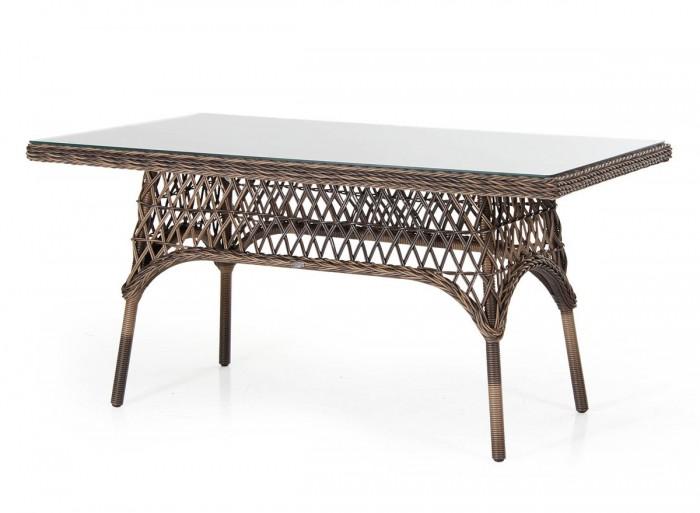 Стол обеденный коричневый 150см Beatrice 5696-60