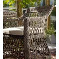 Кресло коричневое Beatrice 5691-60-20 - фото 3