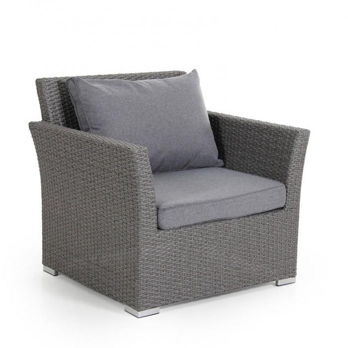 Кресло серое Callas 6601-79-71