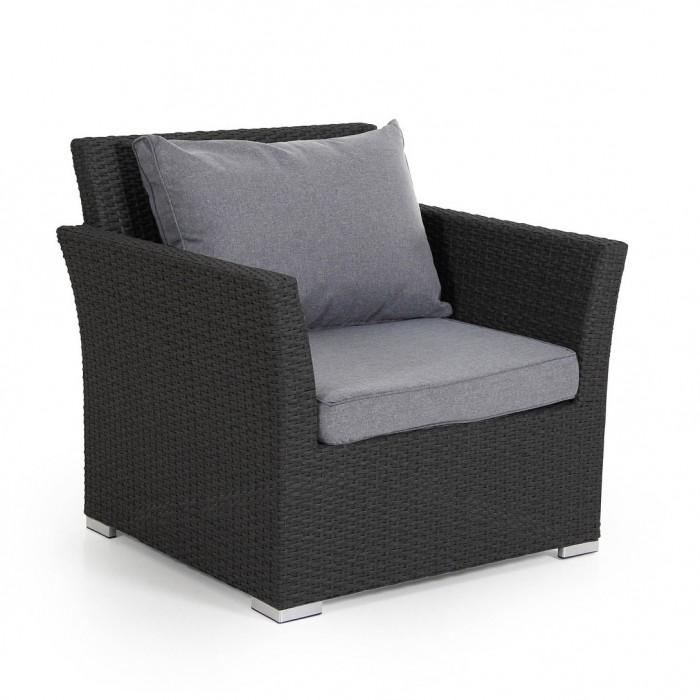 Кресло черное Callas 6601-8-71