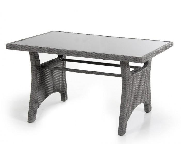 Стол обеденный серый 145см Callas