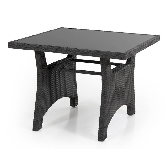 Стол обеденный черный 90см Callas 6607-8