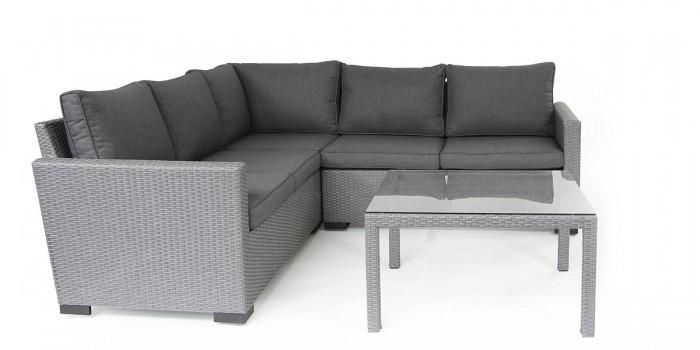 Комплект для террасы серый Canby 3669-73-72