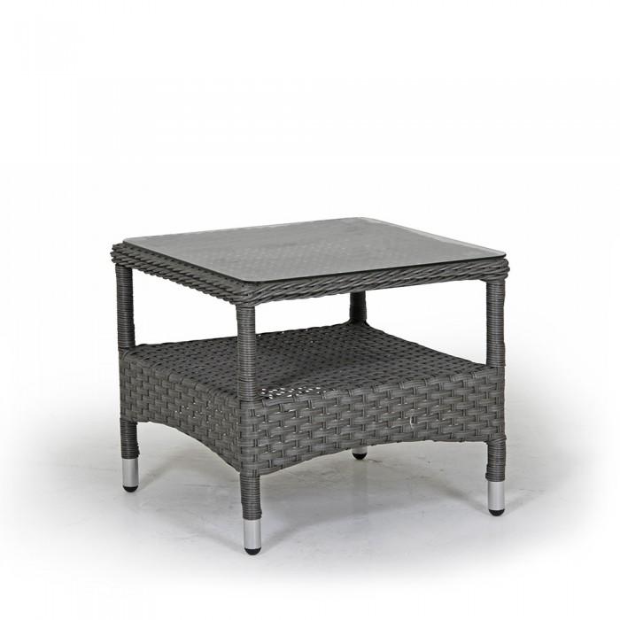 Столик для кофе серый Colby