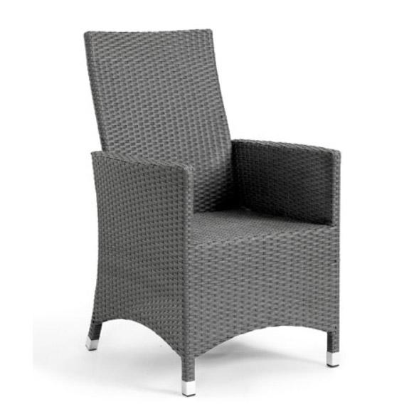 Кресло серое Cora 14400-7