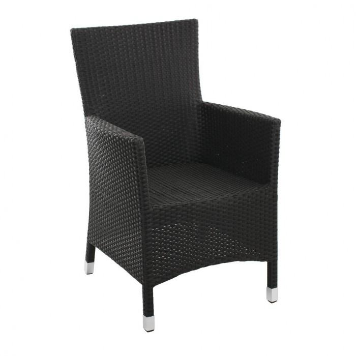 Кресло черное Cora 4400-8