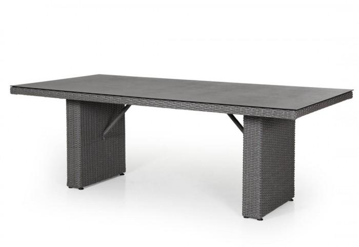Стол обеденный серый 210×100см Cora 14403-71-8