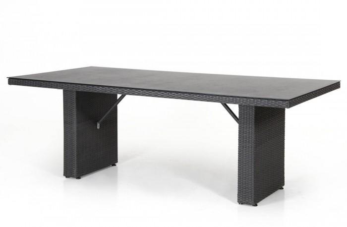 Стол обеденный черный 210×100см Cora 14403-8-8