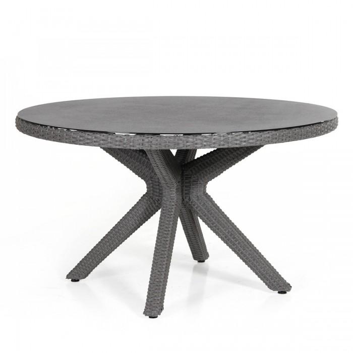 Стол обеденный серый 130см Cora 4404-71-8